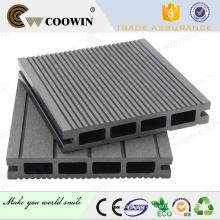 Piscina de bloqueo impermeable gris azul compuesto decking