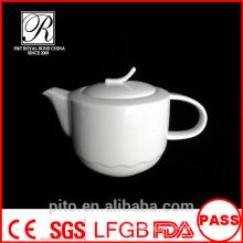 P&T porcelain factory coffee pots, white porcelain tea pots