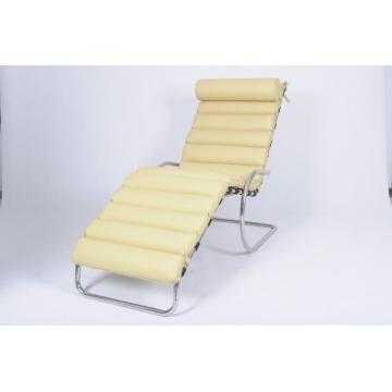 Chaise Lounge in pelle regolabile MR