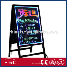 CE certificate writing fluorescent board led backlit signage