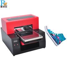 Máquina de impresión personalizada de los zapatos de la camiseta