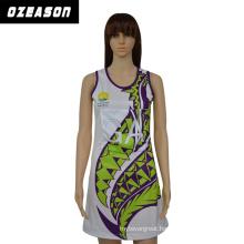 Custom Made Women′s Fashion Netball Dress