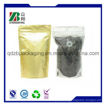 FDA Grade Coffee Bag with Valve and Zipper