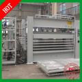 Máquina de prensado en caliente y nueva condición Máquina de laminación en caliente de laminación de melamina de ciclo corto