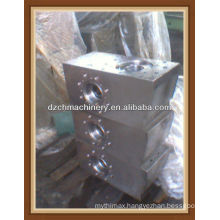 API fluid end module for mud pump of different models