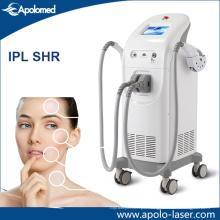Máquina dupla da remoção do cabelo de IPL Shr da E-Luz do sistema do Ce / Elight Shr / Shr
