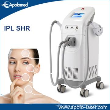 Ce Doppel-System E-Licht IPL Shr Haar-Abbau-Maschine / Elight Shr / Schr