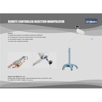 Machine d'injection télécommandée