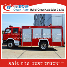 Dongfeng 4X2 4000L water tanker fire truck for sale