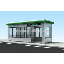 THC-101 big module combination metal bus shelter