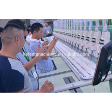 2015 new high super speed 1500 RPM flat embroidery machine