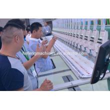 2015 nova máquina de bordar plana de alta velocidade 1500 RPM