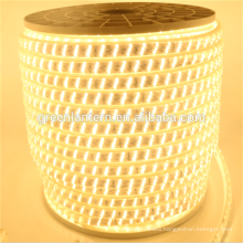 New Super bright triplex row 2835 indoor outdoor flexible led strip 220v