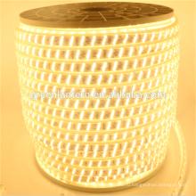 Новый супер яркий 2835 триплекс строки крытый открытый гибкие светодиодные ленты 220В