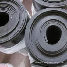 L'industrie Chine Prix Noir SBR Feuille de caoutchouc pour la vente chaude