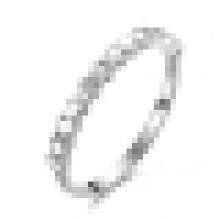 925 стерлингового серебра высокое польское Пентаграмма бесконечность кольца для женщин свадьба обручальное ювелирные изделия кольца
