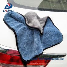 Super soft plush microfiber best selling car polish towel