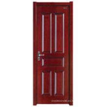 Puerta interior de madera (HDB-007)