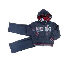 Hoodies do menino do velo menino esportes desgaste menino jaqueta menino ternos