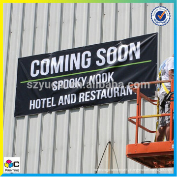 resistance UV warehouse banner, waterproof warehouse Signs