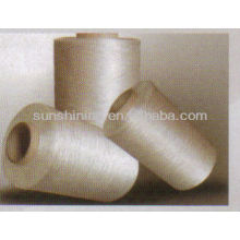 100% 75D / 38F Filamento acrílico blanco crudo FDY / DTY hilo texturado