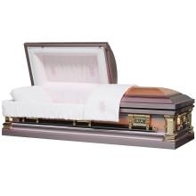 Cercueil de cuivre Rose pour le marché USA