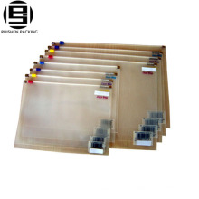 Bonne qualité durables pvc fermeture à glissière sacs pour le stockage des stylos crayons