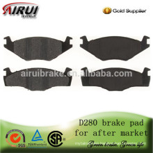 D280-7243 High quality brake pad for Seat and VW for after market