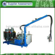 Alta configuración de espuma de poliuretano de aislamiento de la máquina de inyección