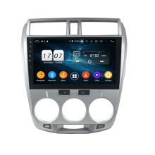 Klyde android auto-elektronica voor CITY 2006-2013