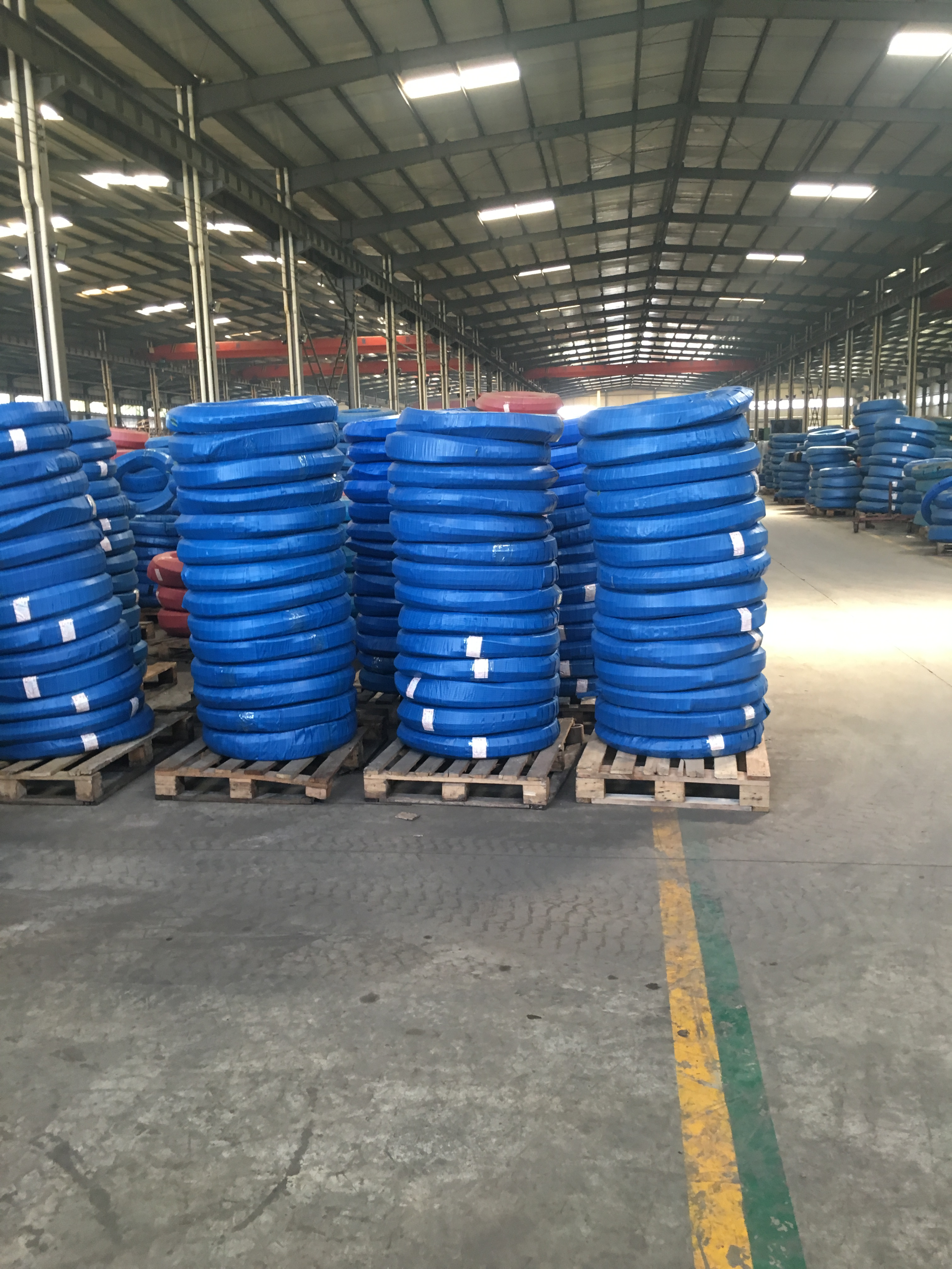 hydraulic hose packing