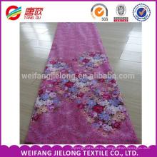 Tejido de cama de algodón estampado hermoso