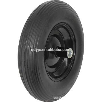 4.80 x 4.00-8 Flat Free Wheelbarrow Wheel Assembly