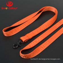 Neue benutzerdefinierte Nylon Material Hals Lanyard Strap