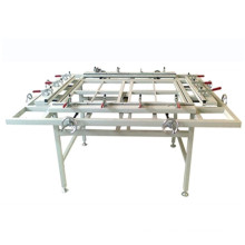 Tsm-1215A Silk Screen Printing Frame Mesh Stretching Machine