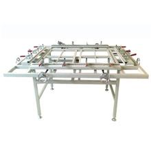 Цм-1215A рамки печатания шелковой ширмы сетка протягивая машину