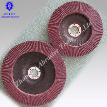 """New 10-pc. 4-1/2"""" X 7/8"""" Sanding Flap Aluminum Oxide Grinding Discs 40-400 Grit"""