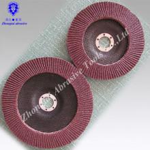 """Novo 10-pc. 4-1 / 2 """"X 7/8"""" discos de moedura do óxido de alumínio da aleta 40-400 grão de lixamento"""