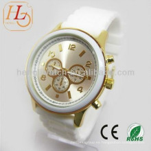Reloj caliente del silicón de la manera, el mejor reloj de la calidad 15043