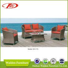 Outdoor Sofa, Rattansofa, Wicker Sofa (DH-175)