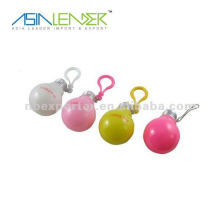 Porte-clés en forme de lampe mini porte-clés légers