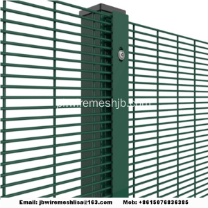 Pokryty PVC High Security 358 Fence