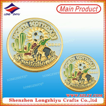 Fantastic Logo Excelente calidad Moneda de metal con diseño de clase
