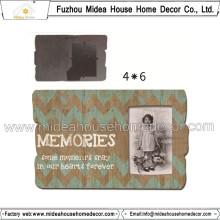 Cadre photo MDF avec décoration