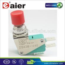 Daier DS-438 micro-interrupteur à bouton-poussoir