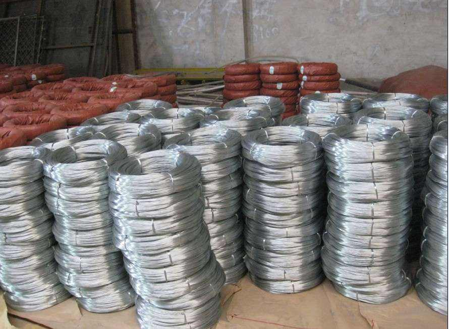 0.8mm BWG21 Galvanized Binding Wire