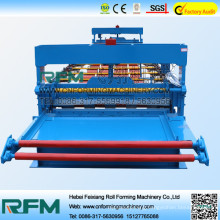 FX colored metal steel panel roll forming machine