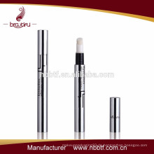 2015 modische leere kosmetische Aluminium & Kunststoff Twist up Lip Glanz Stift