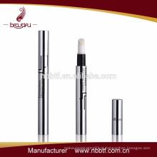 2015 moda cosmética vazia alumínio & plástico torção até lábio caneta lustre