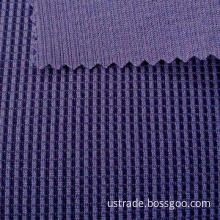 100% polyester knitted waffle fabric for sportswear